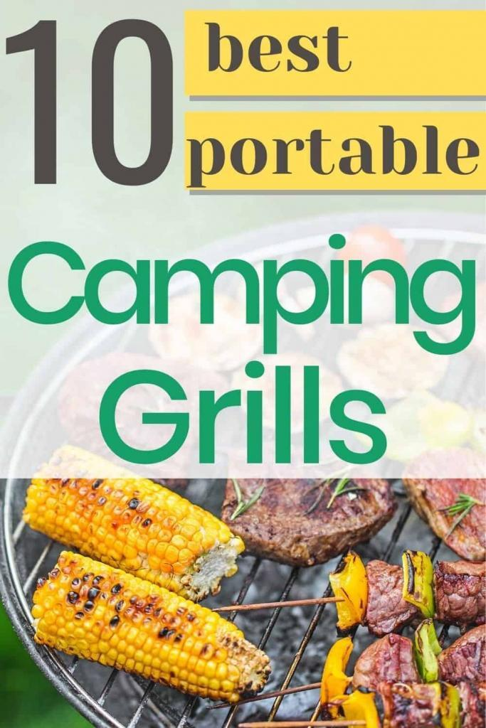 best portable camping grills for your RV