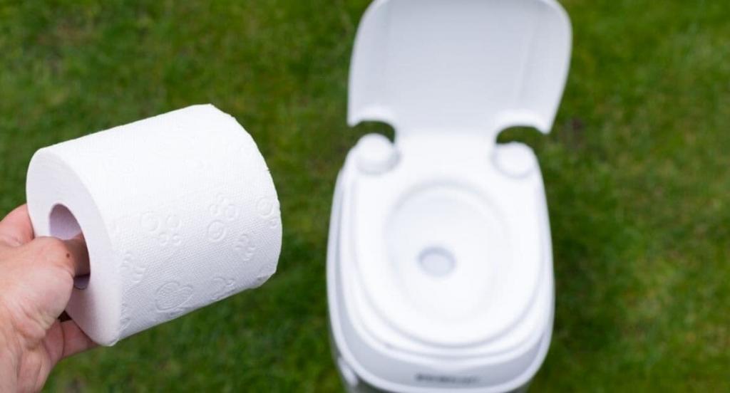composting RV toilet