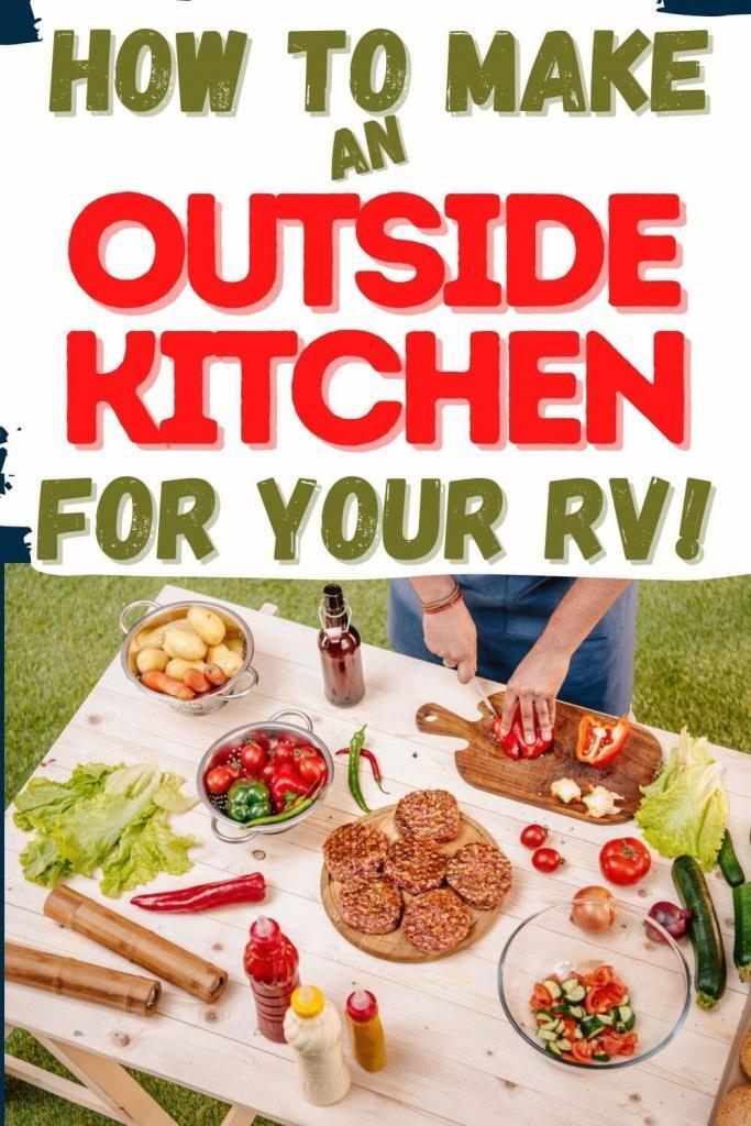 RV outdoor kitchen